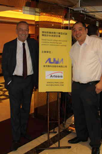 Professor Ahmet Duyar In Taiwan for product launch